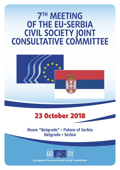 7th Meeting Of The Eu Serbia Civil Society Joint Consultative