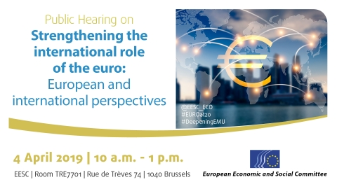 on Strengthening the international role of the euro