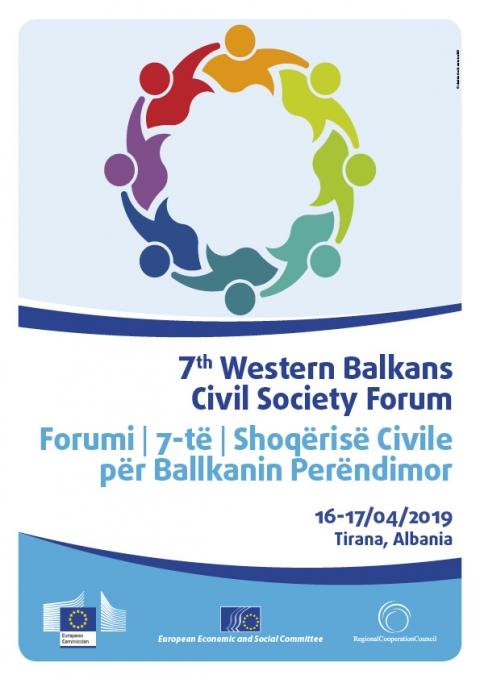 7th Western Balkans Civil Society Forum European Economic And