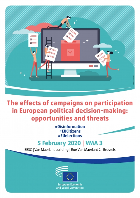 The effects of campaigns on participation in European political decision-making: opportunities and threats