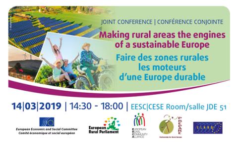 Faire des zones rurales les moteurs d'une Europe durable