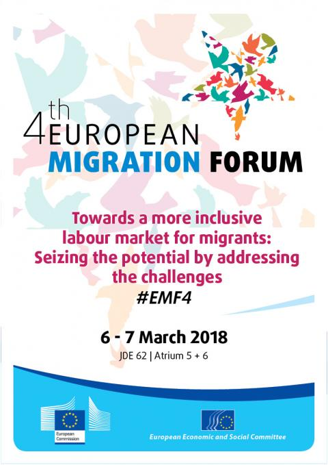 European migration forum 4th meeting european economic and the european migration forum the dialogue platform on migration asylum and migrant integration will meet for the fourth time in march 2018 stopboris Image collections