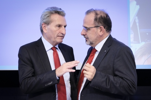 Oettinger and Javier