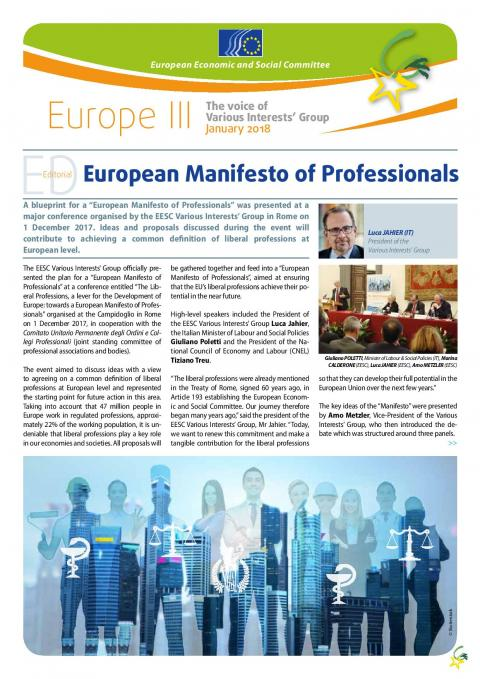 Europe iii january 2018 european economic and social committee europe iii january 2018 malvernweather Images