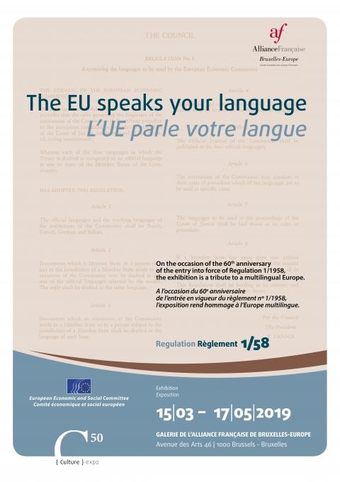 poster EU speaks your language