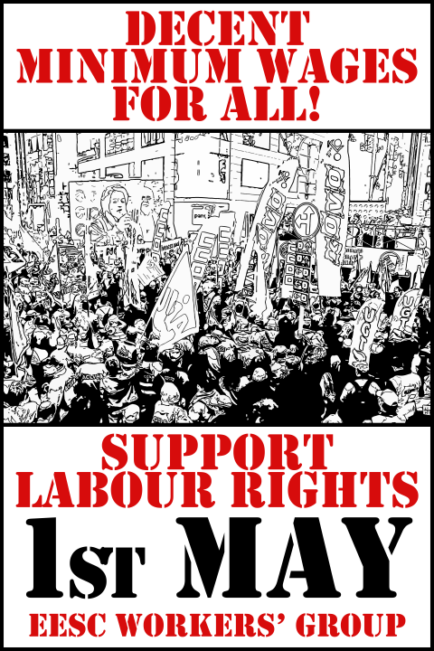 1st of May: Decent minimum wages for all!