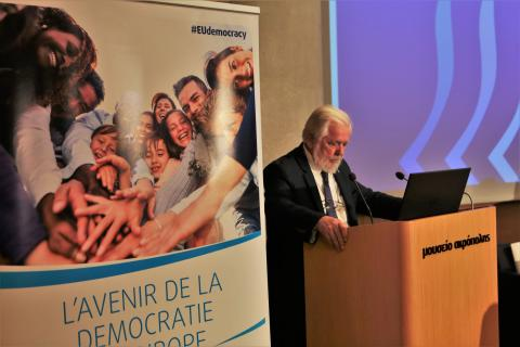 George Dassis calls for a united, democratic, social and free Europe