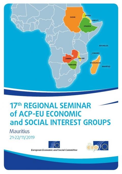 17th Regional Seminar Of Acp Eu Economic And Social Interest