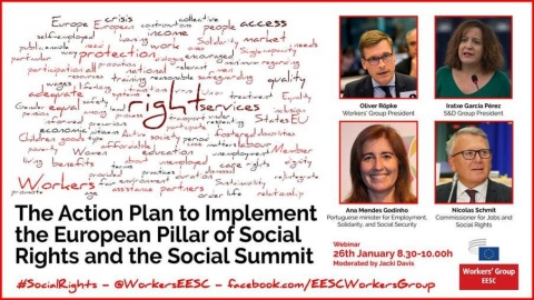Action Plan to implement the European Pillar of Social Rights and the Social Summit in Porto
