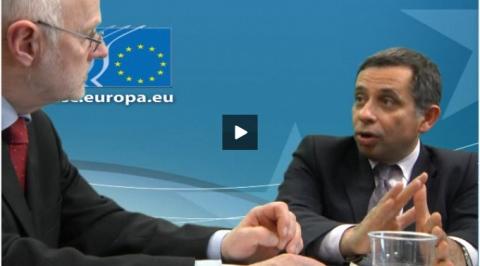 Staffan Nilsson talks with Henri Malosse on EU's value for money