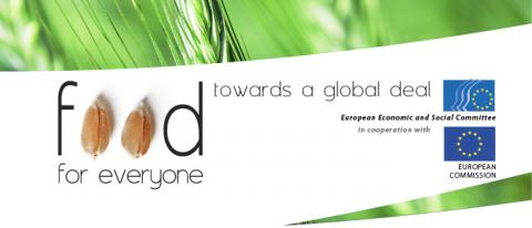 """Logo conference """"Food for everyone"""""""