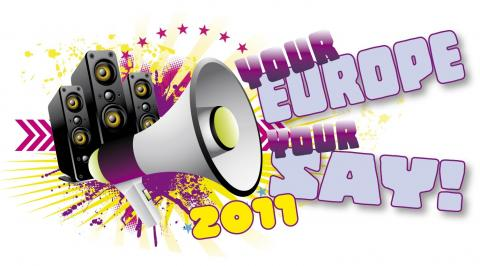 Logo - Your Europe, Your Say 2011