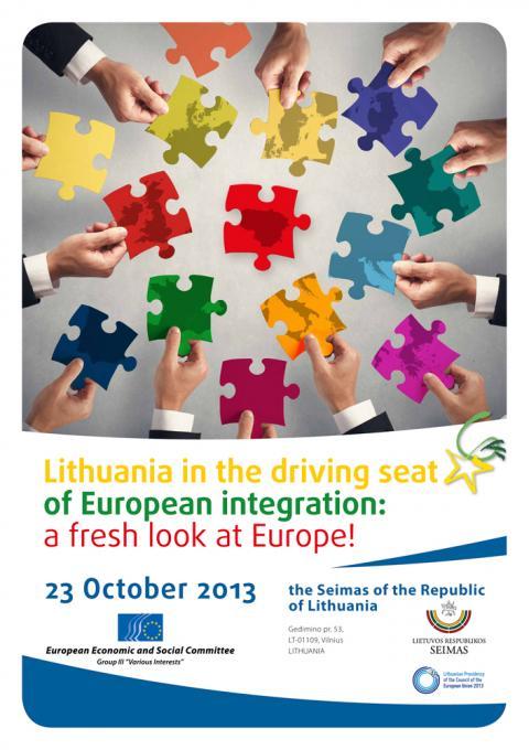 eu naptár Lithuania in the driving seat of European integration: a fresh  eu naptár