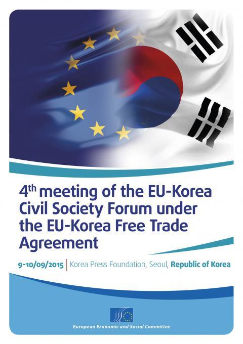 4th Meeting Of The Eu Korea Civil Society Forum Under The Eu Korea