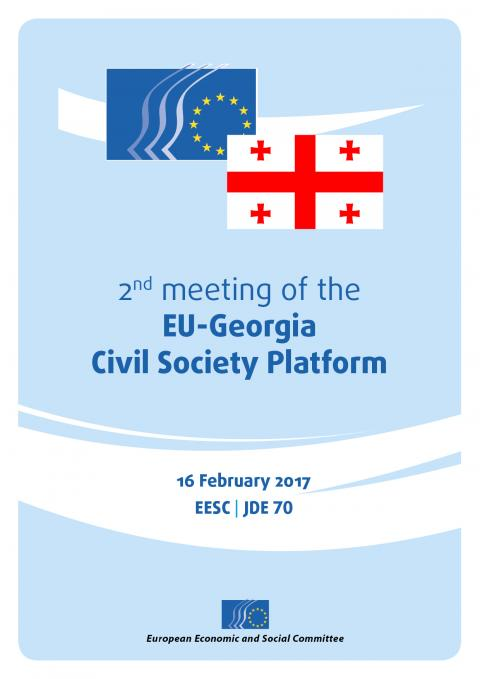 Gegia Calendario.2nd Meeting Of The Eu Georgia Civil Society Platform
