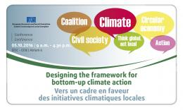 Designing the framework for bottom-up Climate action