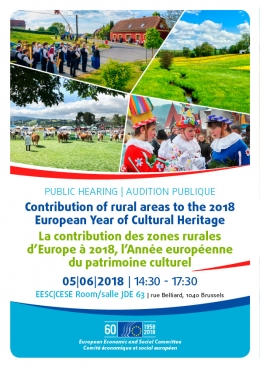 Contribution of rural areas to the 2018 European Year of Cultural Heritage