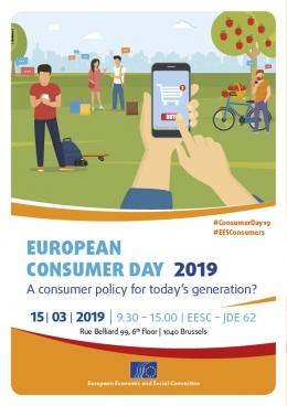 European Consumer Day 2019 poster