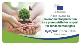 Environmental protection as a prerequisite for respect for fundamental rights