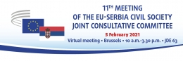 11th Meeting of the EU-Serbia JCC