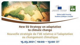 New EU strategy on adaptation to climate change