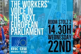 ETUC Congress - Workers' Group side event