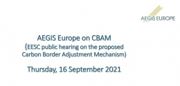 AEGIS Europe on CBAM