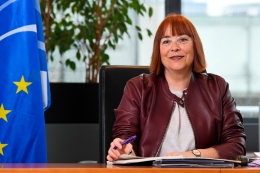 Ms Isabel Caño Aguilar, Vice-President in charge of Communication, EESC