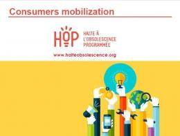 Consumers' Mobilisation - Halte à l'Obsolence Programmée