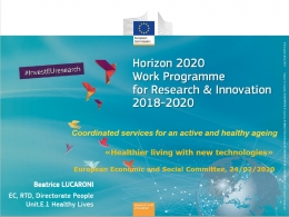 Horizon 2020 Work Programme for Research & Innovation 2018-2020 - #InverstEUresearch