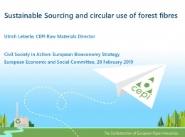 Sustainable Sourcing and circular use of forest fibres