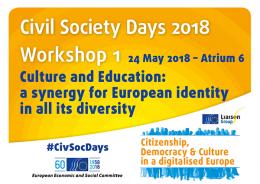 CSD 2018 Workshop 1 banner