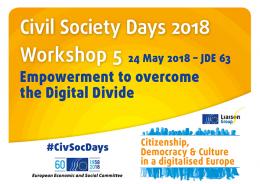 CSD 2018 Workshop 5 banner
