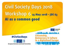 CSD 2018 Workshop 6 banner