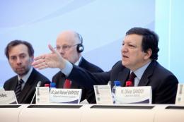 Martin Westlake, Staffan Nilsson,  José Manuel Barroso