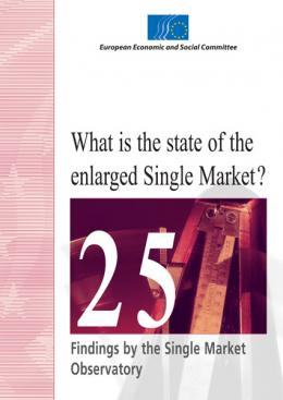 Cover of What is the state of enlarged Single Market