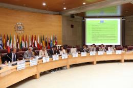 From left to right: Jorge García- Figueras, Spanish SOLVIT centre, Ján Oravec, EESC member, Liina Carr, SMO Vice-Chair, Jean-Pierre Faure, SMO secretariat, Cristina García, Andrea Di Carlo, Ignacio de Medrano Caballero, OHIM, Juan Bautista Riera Sánche...