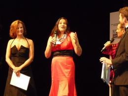 Madi Sharma at the award ceremony