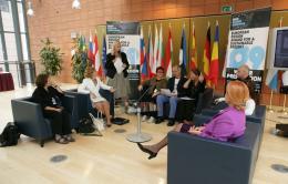 press conference design competition