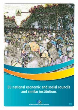 EU national economic and social councils and similar institutions