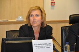 Ms Connie Hedegaard, European Commissioner for the Climate Action