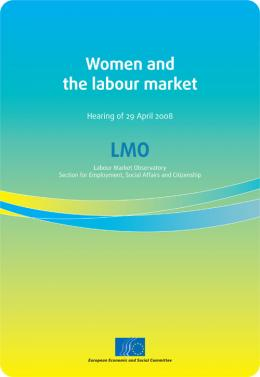 Women and the labour market