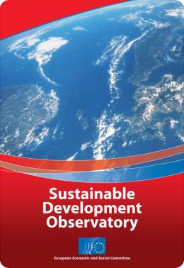 Cover od the Sustainable Development Observatory