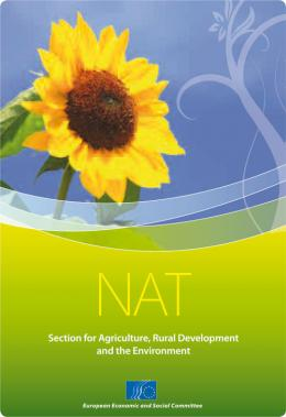 NAT - Section for Agriculture, Rural Development and the Environment
