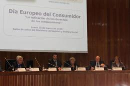 European Consumersday 2010, Madrid - The Podium