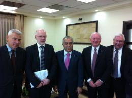 EESC Delegation with the Palestinian Prime Minister Salam Fayyad